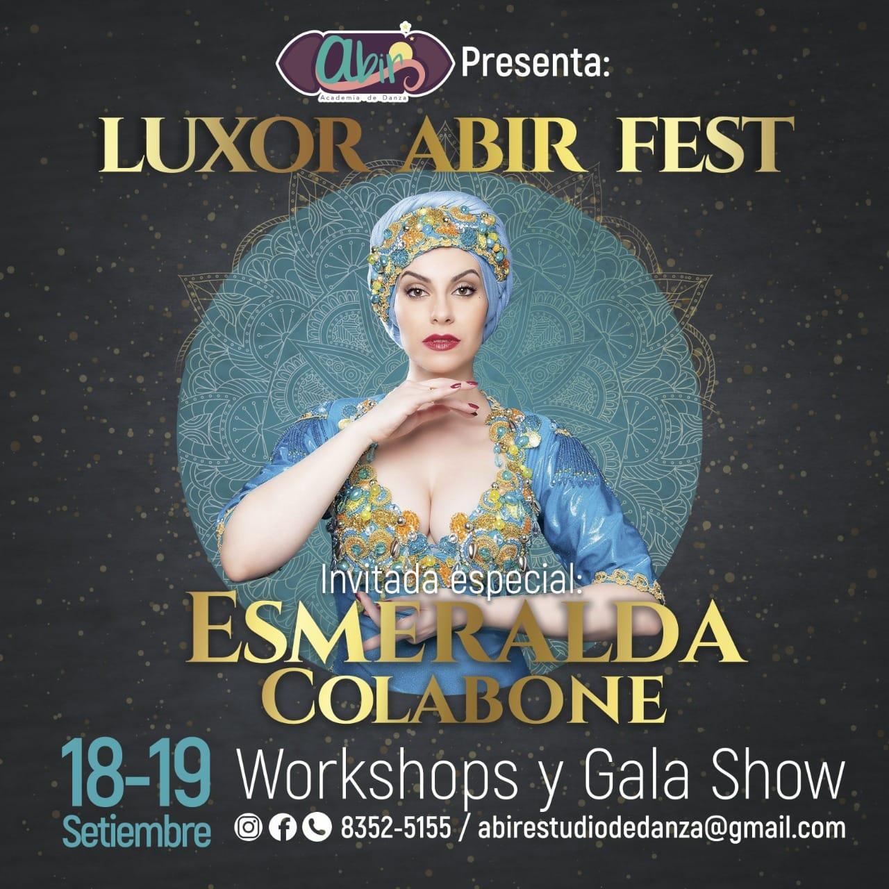 Luxor Abir Fest 2021