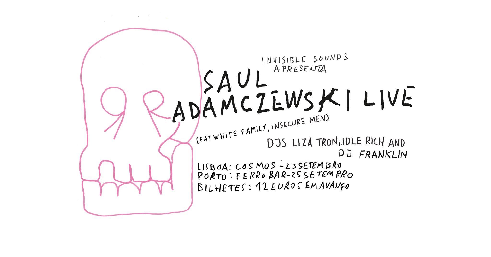 Saul Adamczewski (Fat White Family & Insecure men) @ Concerto