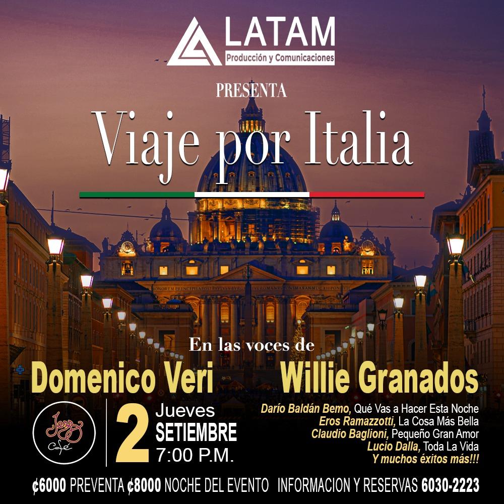 Viaje por Italia