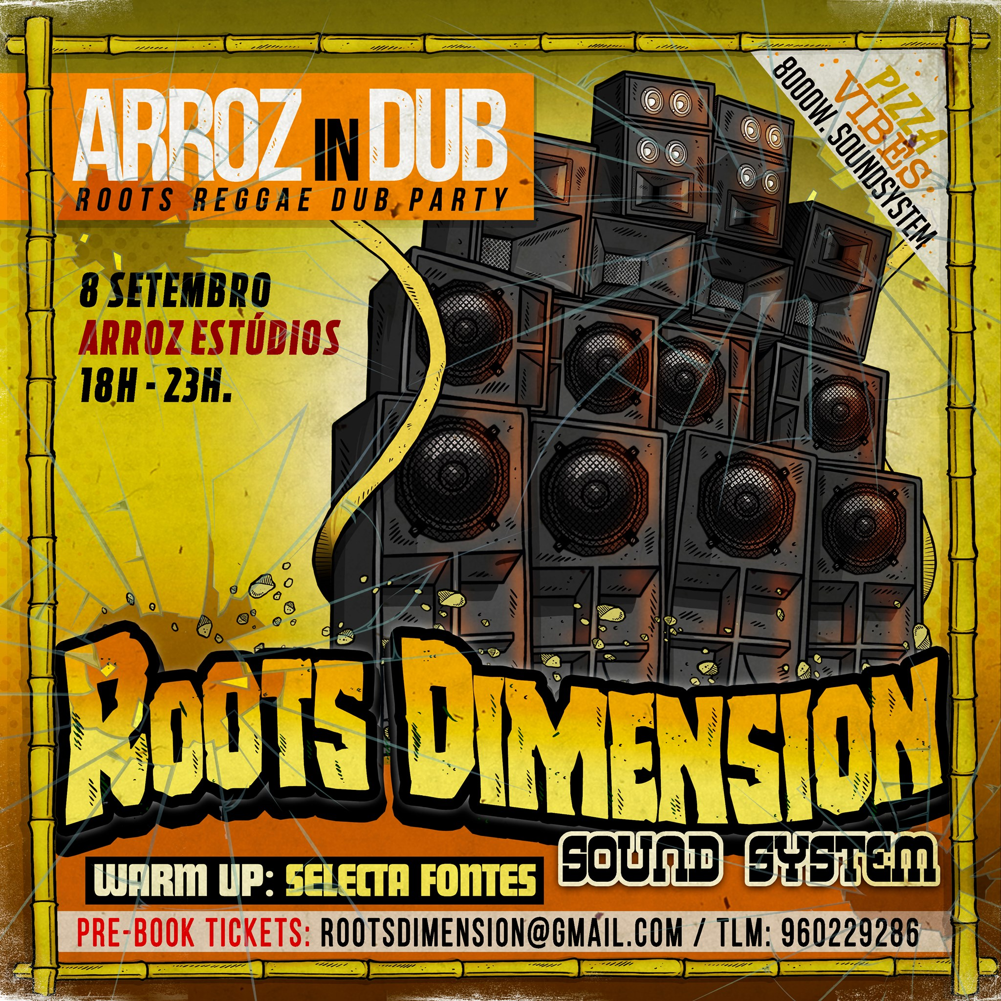 Arroz in Dub - Roots Reggae Dub Party