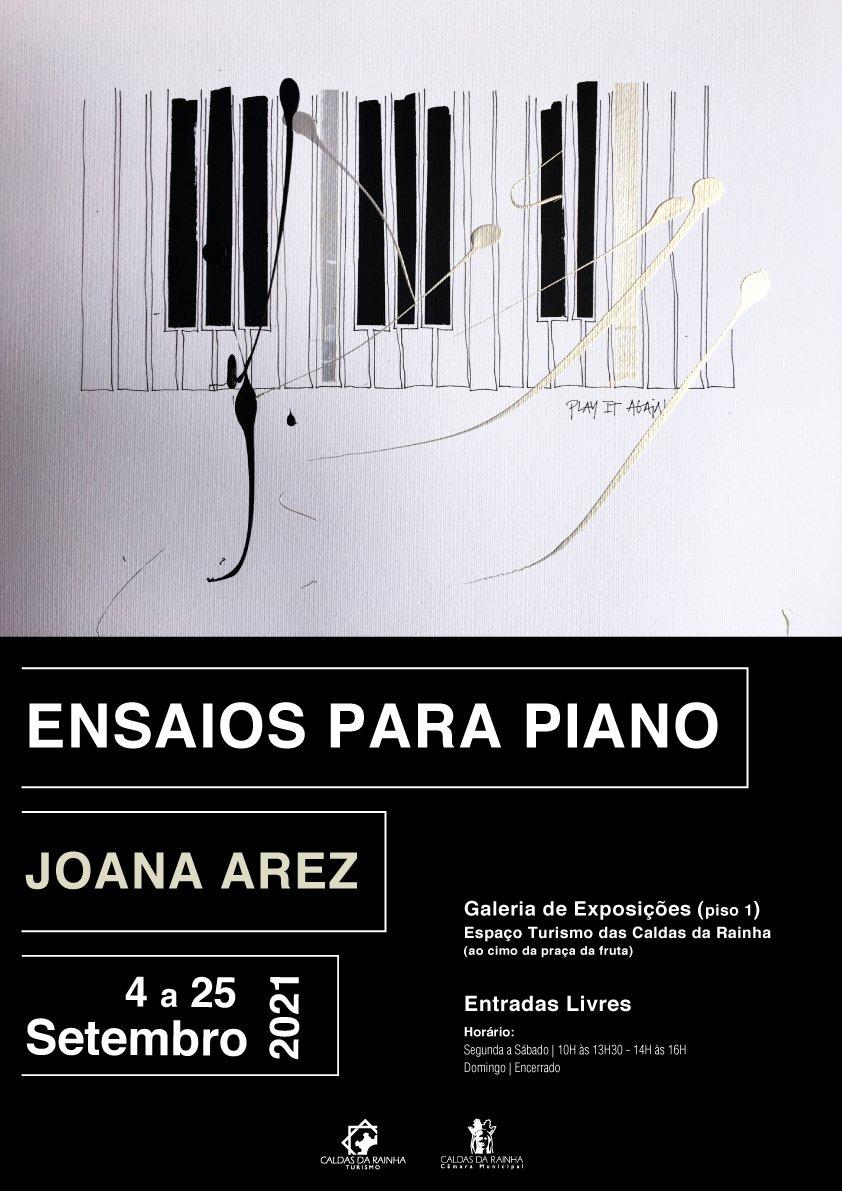 Ensaios Para Piano   Joana Arez