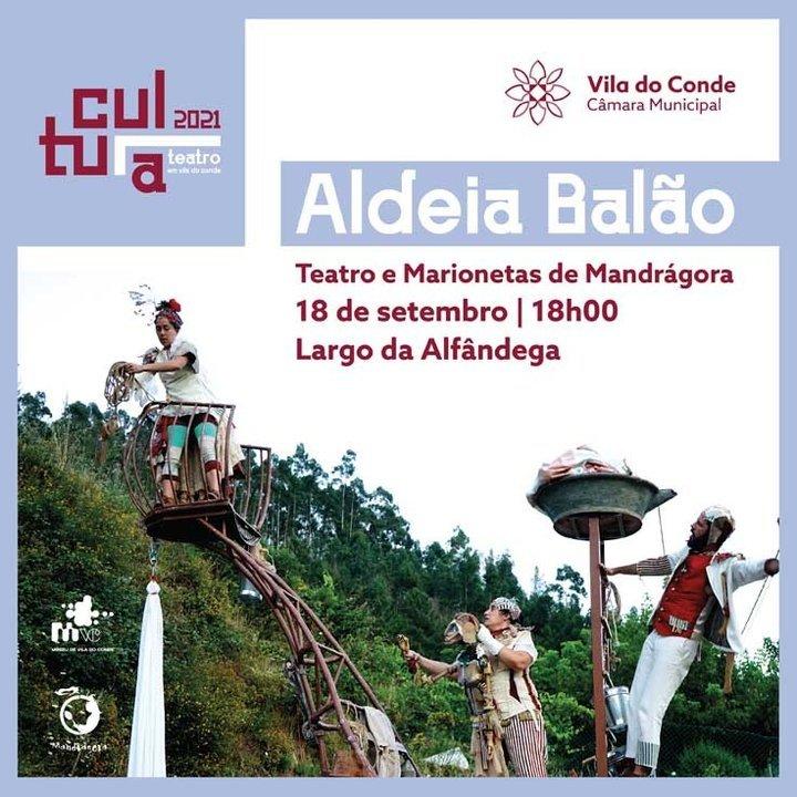 'Aldeia Balão': teatro no Largo da ...