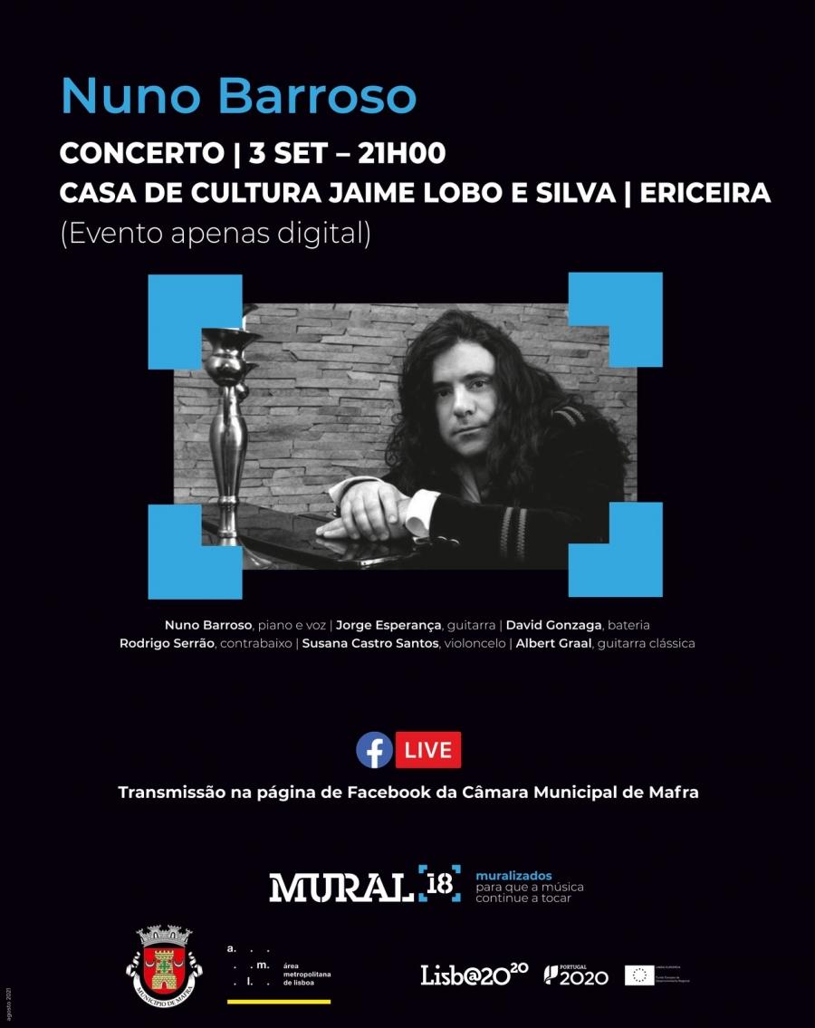 Concerto de Nuno Barroso