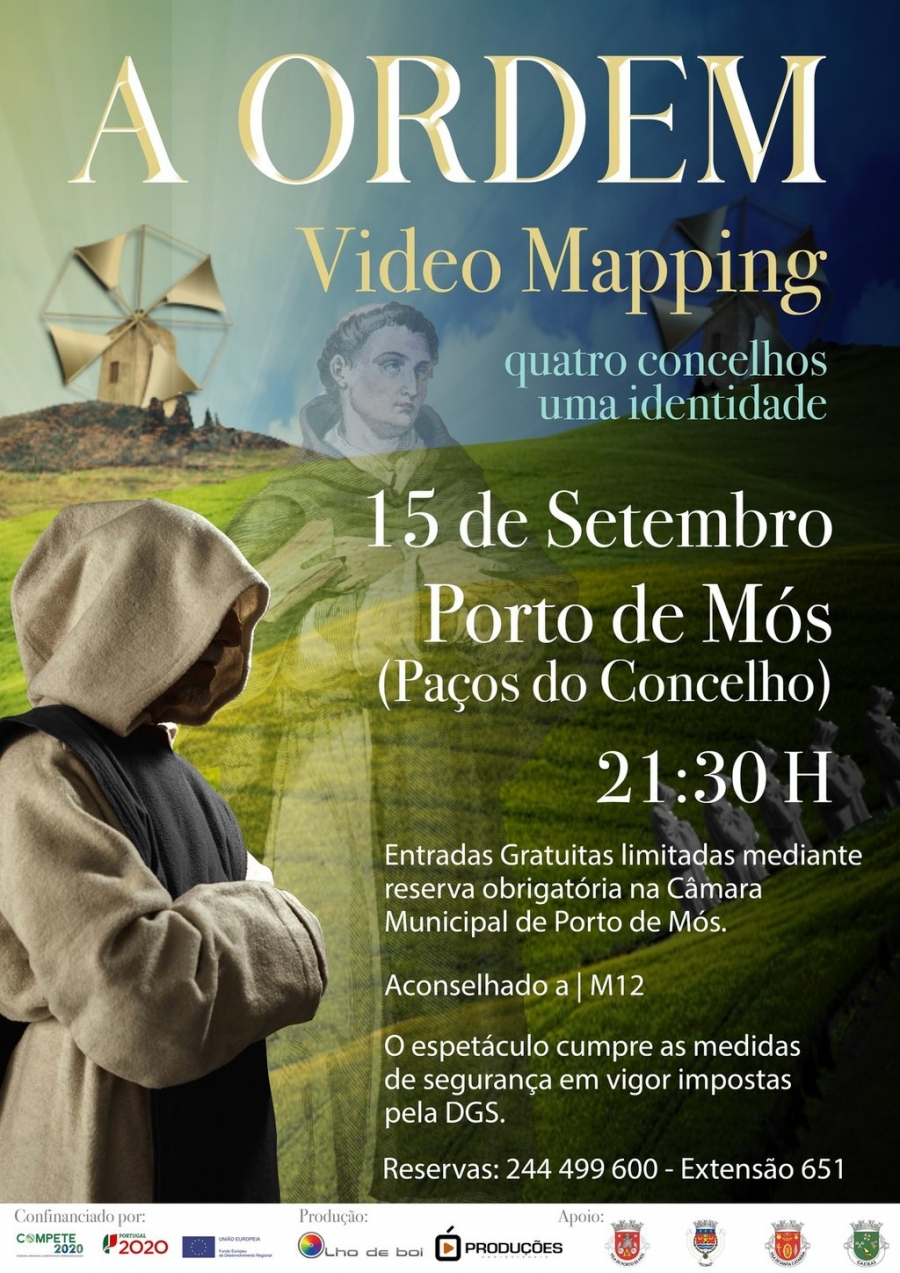 A Ordem - Video Mapping