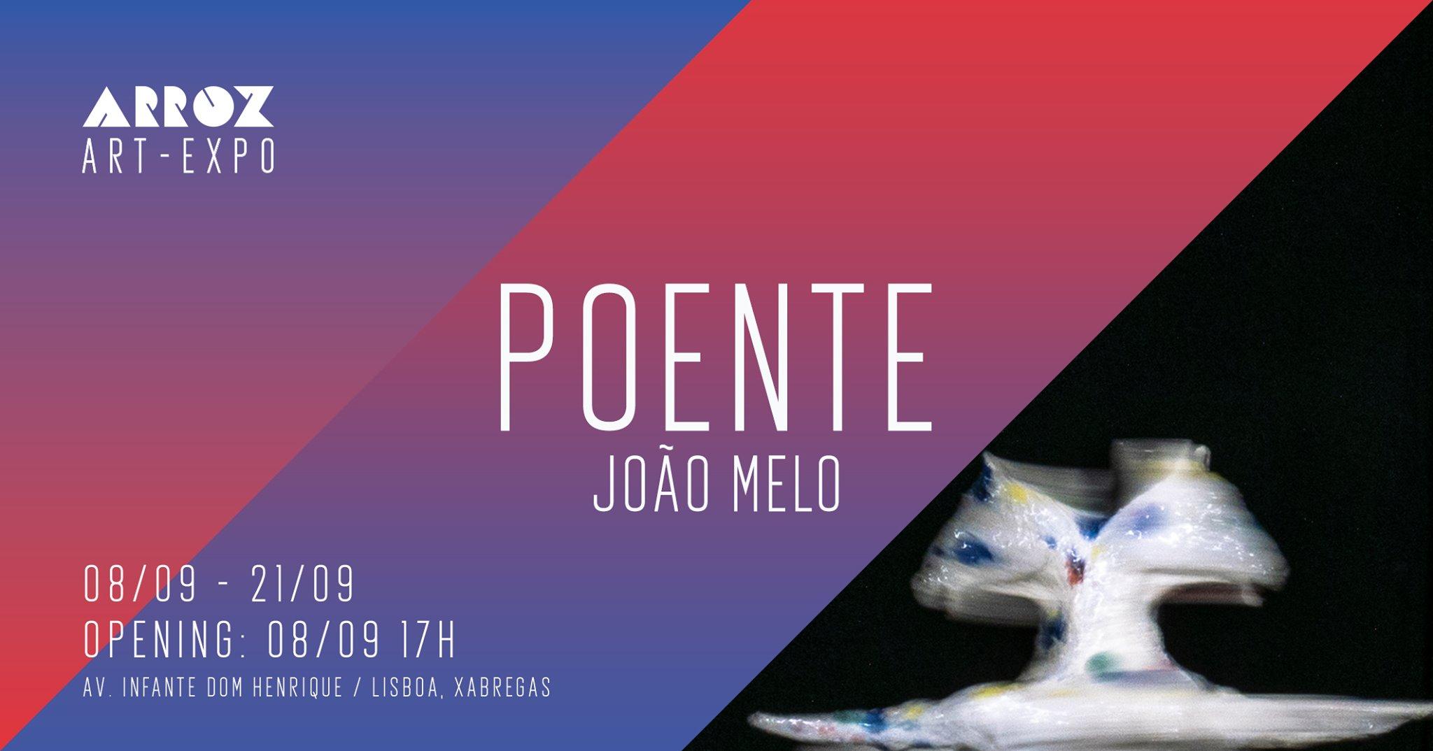 Expo: Poente - João Melo