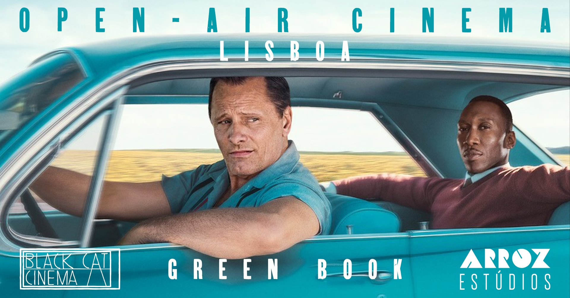 Open-air cinema: Green Book