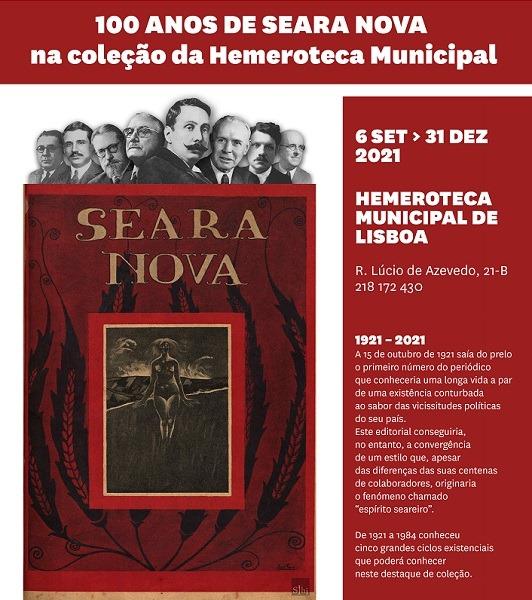 100 anos de Seara Nova na coleção da Hemeroteca Municipal