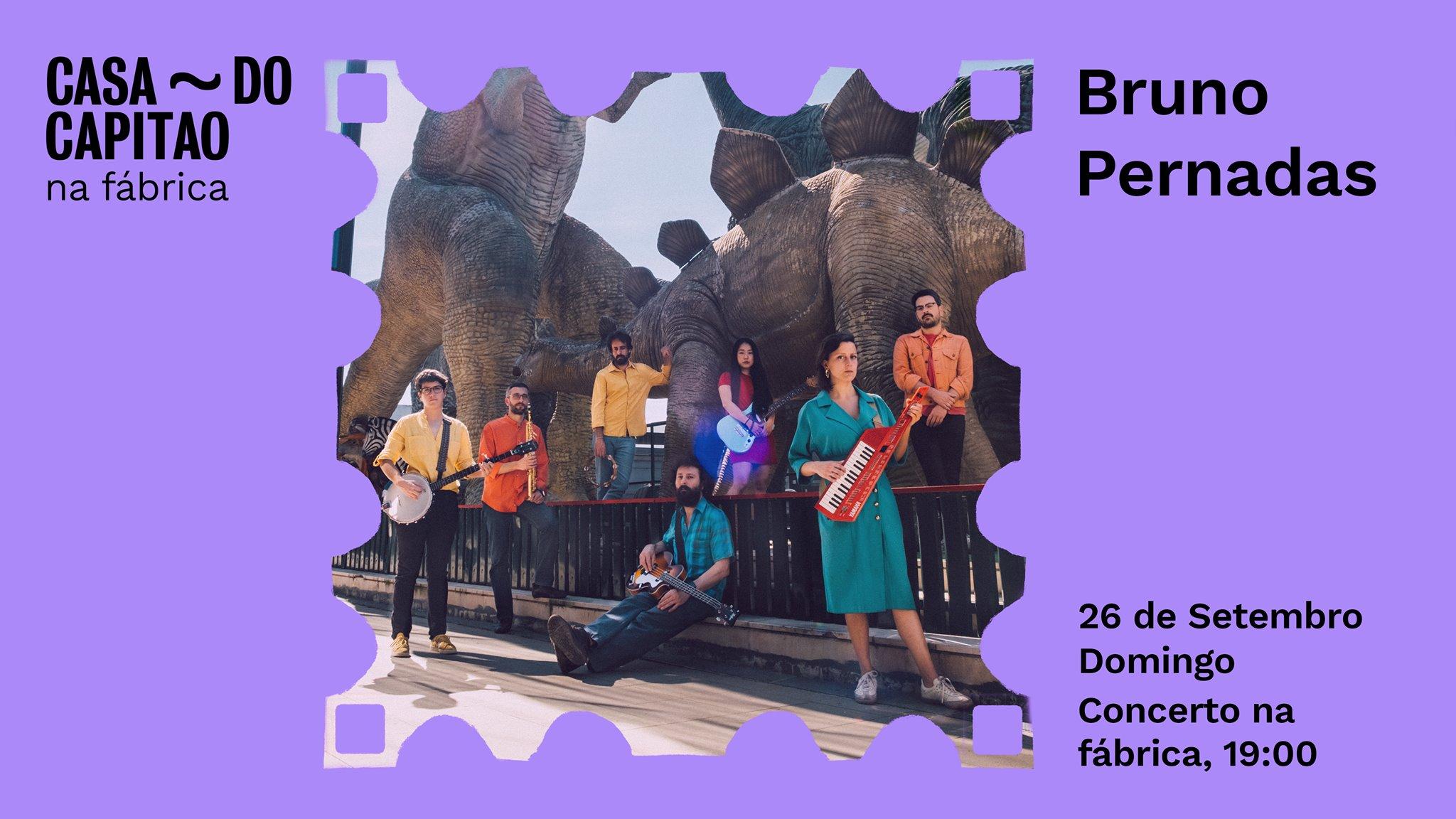 Bruno Pernadas • Concerto na fábrica