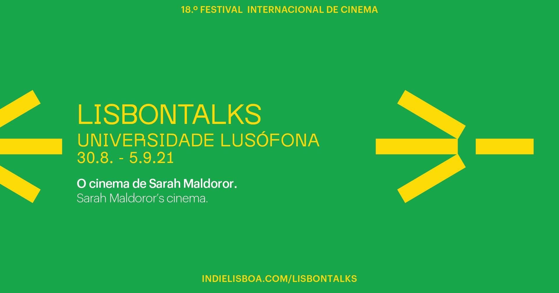 LisbonTalks - O cinema de Sarah Maldoror