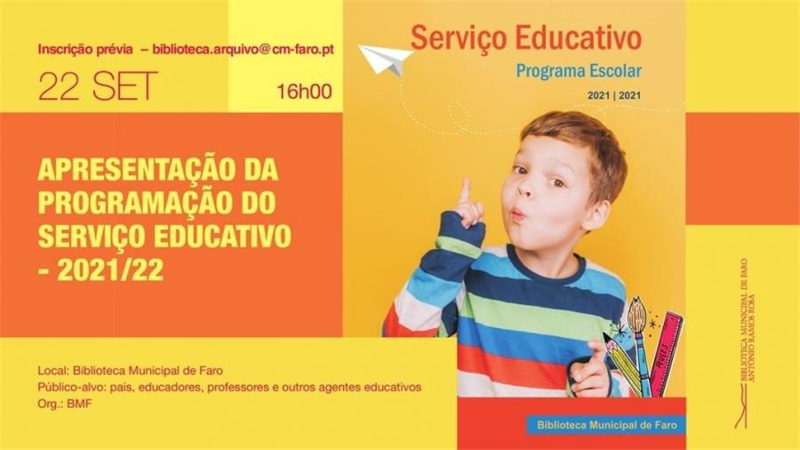 Apresentação da Programação do Serviço Educativo