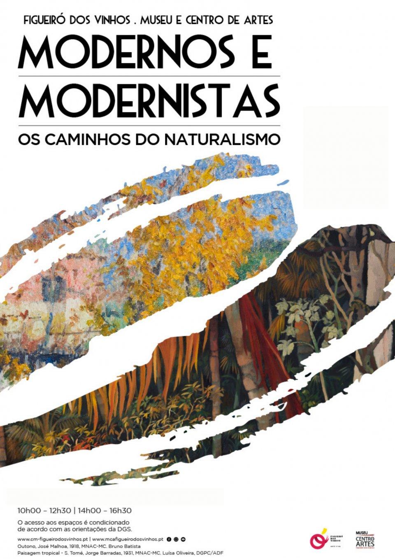 """Exposição 'Modernos e Modernistas"""" – Os Caminhos do Naturalismo"""