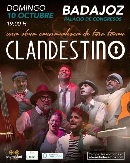 'Clandestino' – Una obra carnavalesca de Tino Tovar