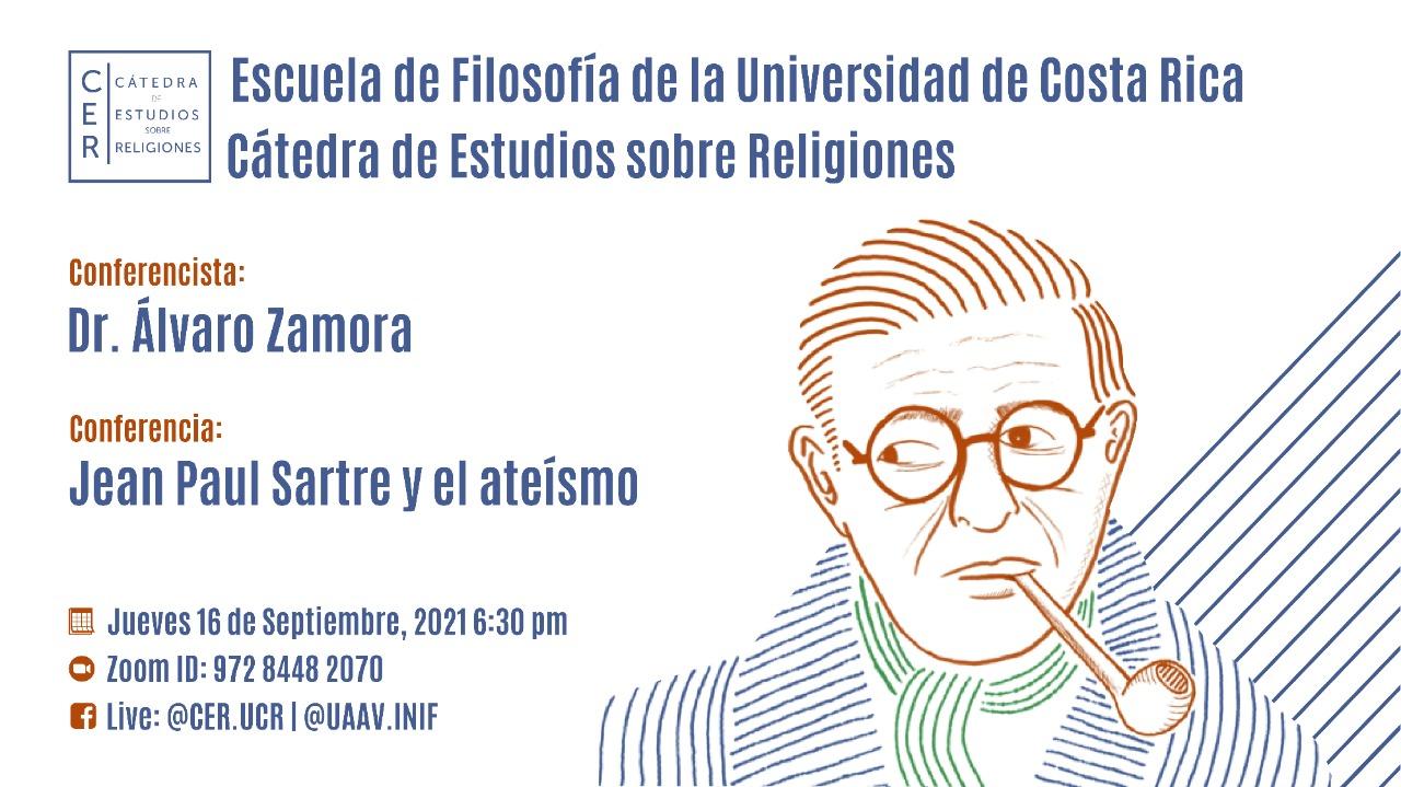 Conferencia: Jean Paul Sartre y el ateísmo
