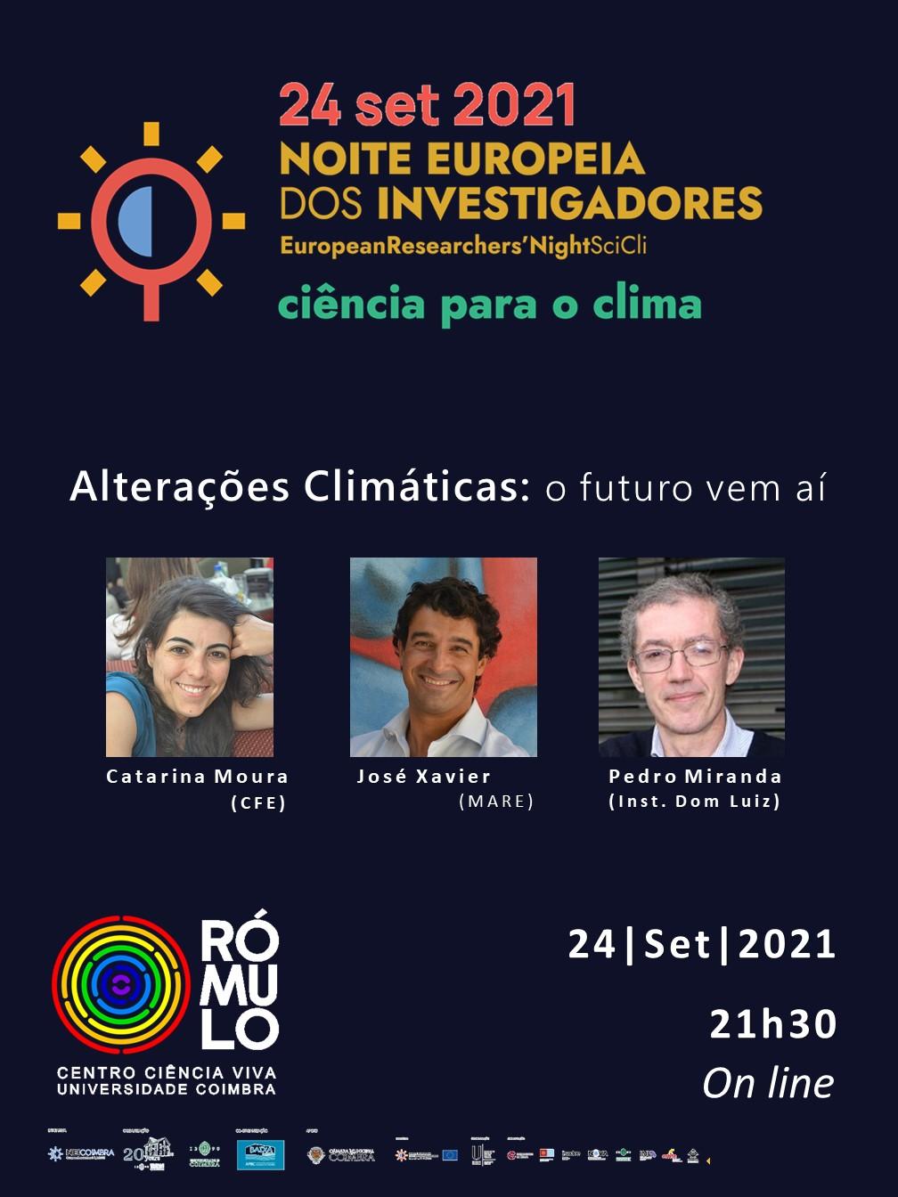 Alterações Climáticas: O Futuro vem aí | Noite Europeia dos Investigadores