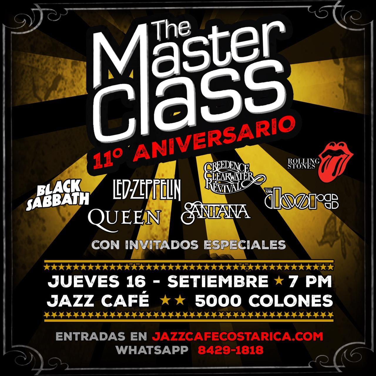 Master Class: 11vo Aniversario