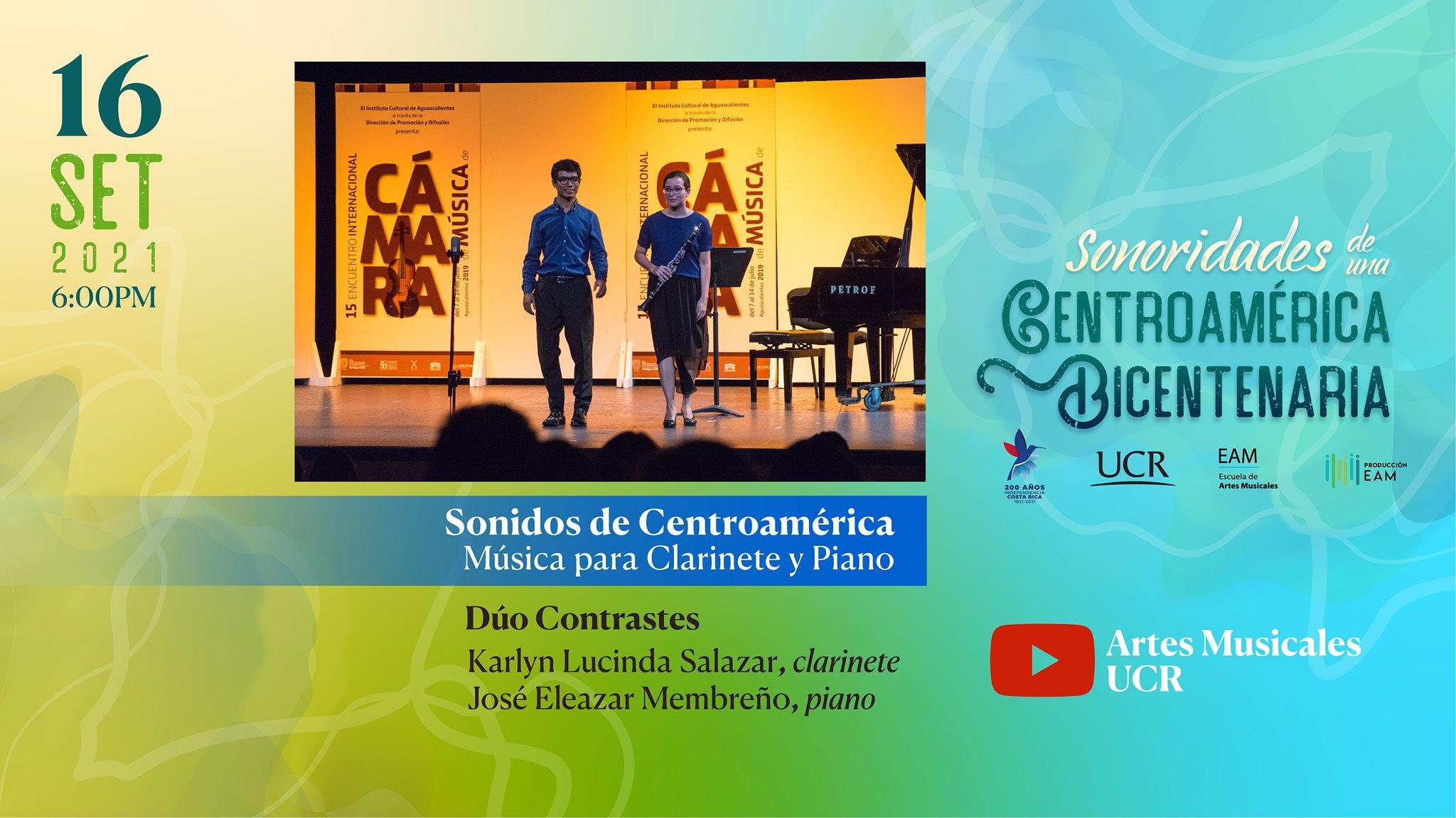 Sonidos de Centroamérica: música para clarinete y piano