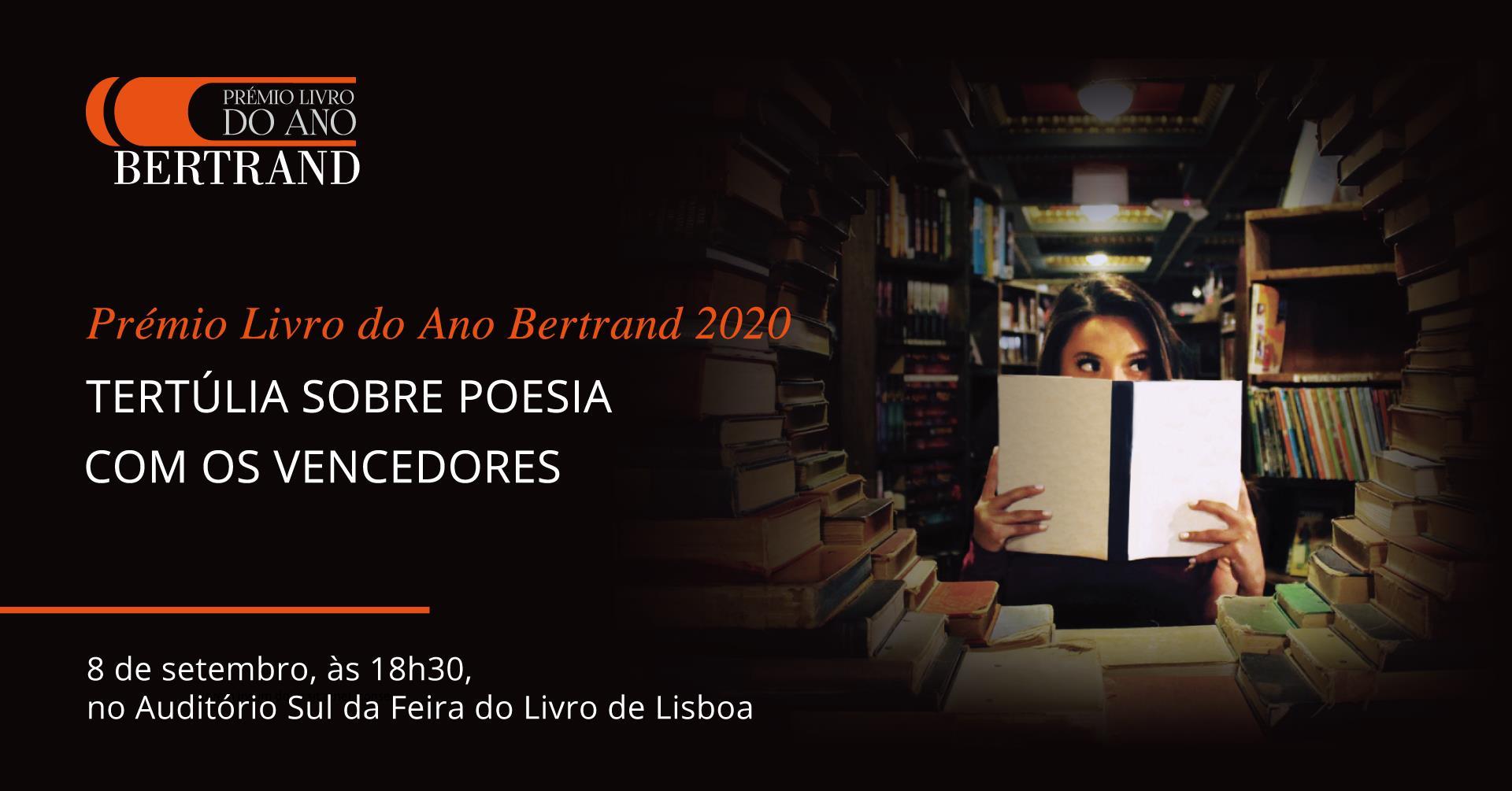 Prémio Livro do Ano Bertrand 2020 | Tertúlia sobre Poesia com os vencedores