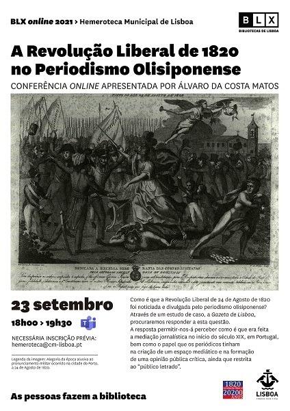 A Revolução Liberal de 1820 no Periodismo Olisiponense: constantes e linhas de força
