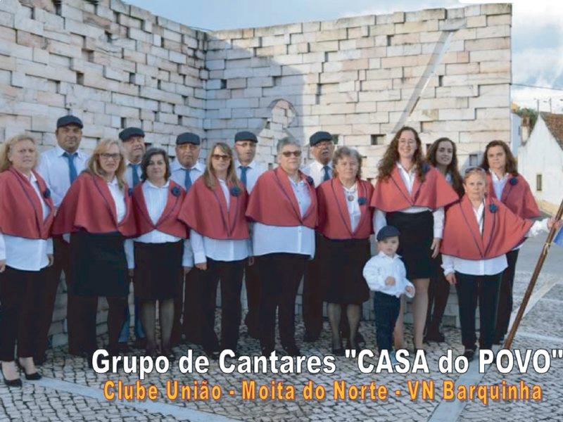 Música: Grupo de Cantares 'Casa do Povo' do Clube União de Recreios de Moita do Norte