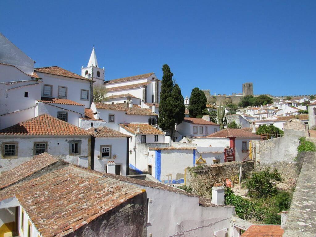 Caminhando em Óbidos e nas margens do rio Arnoia