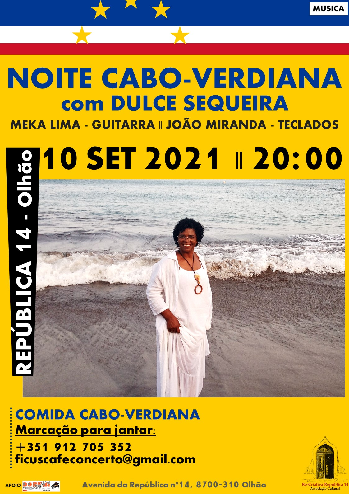 NOITE CABO-VERDIANA -  com Dulce Sequeira