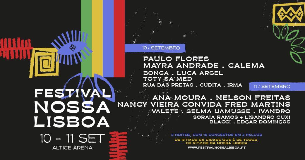 FESTIVAL NOSSA LISBOA   10 E 11 DE SETEMBRO 2021