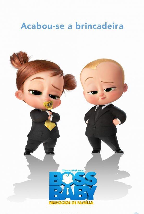 Exibição do filme ' Boss Baby: negócios de família'