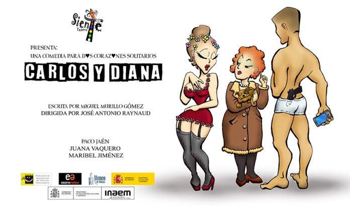 Carlos y Diana (una comedia para dos corazones solitarios) – XXIV Muestra de Teatro Amateur