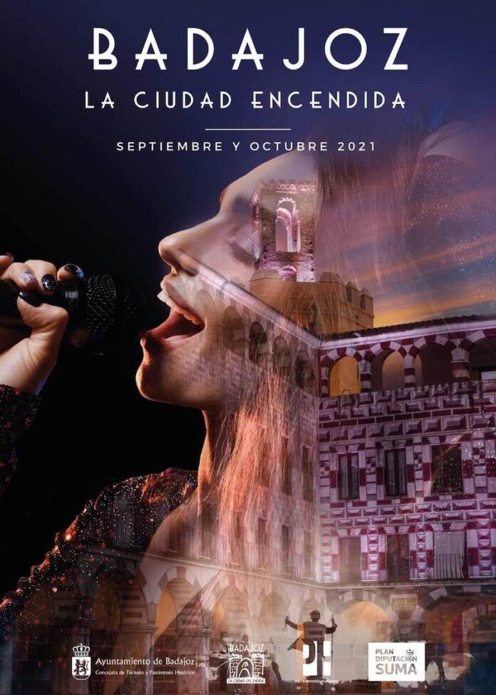 Espectáculo de La Ciudad Encendida 2021 – Juan Cotano