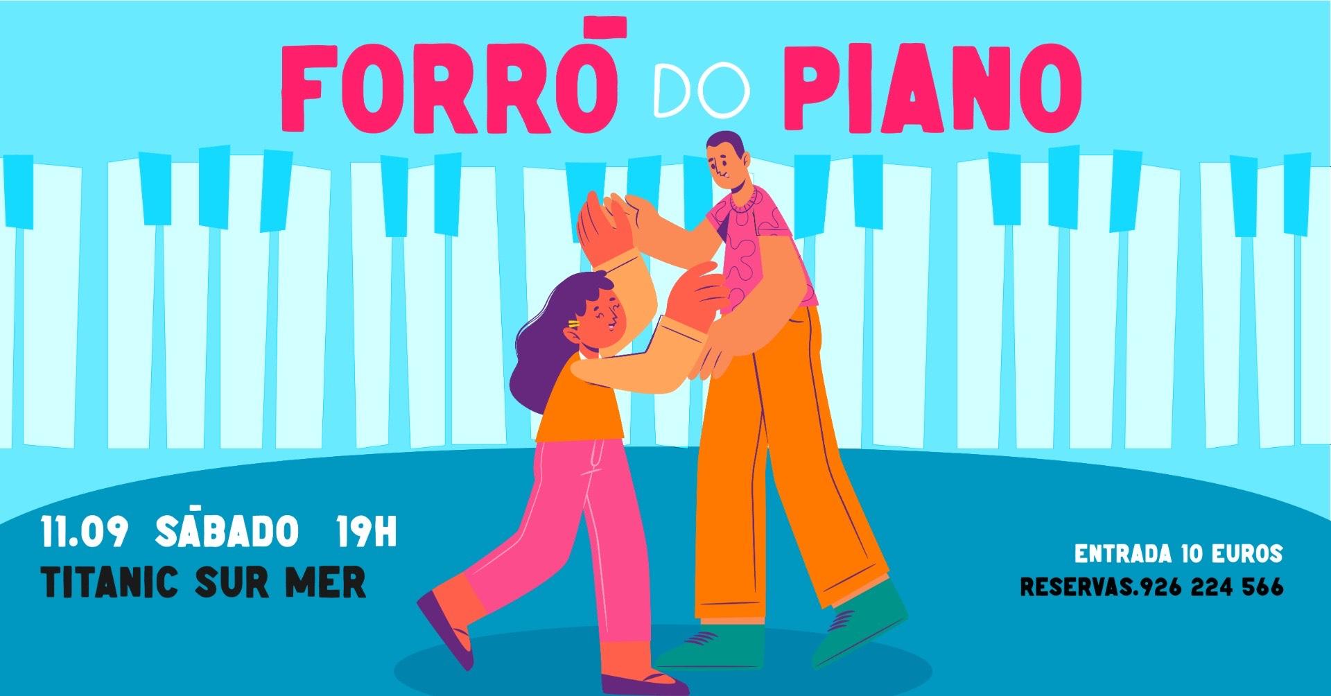 FORRÓ DO PIANO