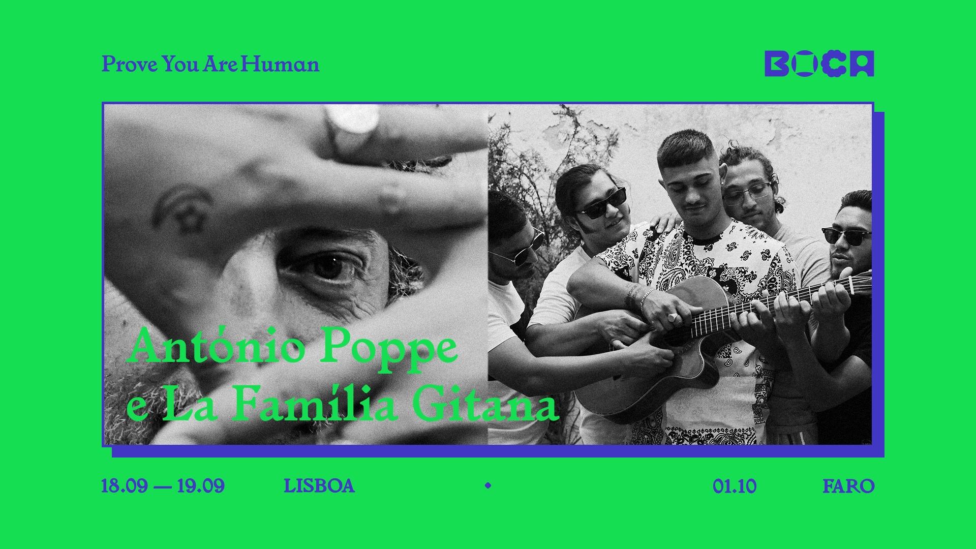 BoCA 2021   António Poppe e La Família Gitana