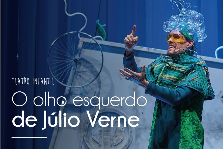 O olho esquerdo de Júlio Verne