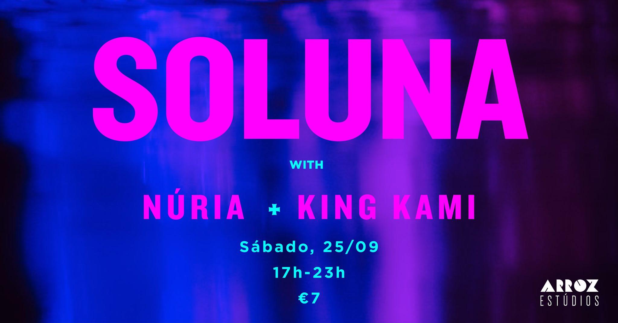 Soluna & Friends @ Arroz Estudios