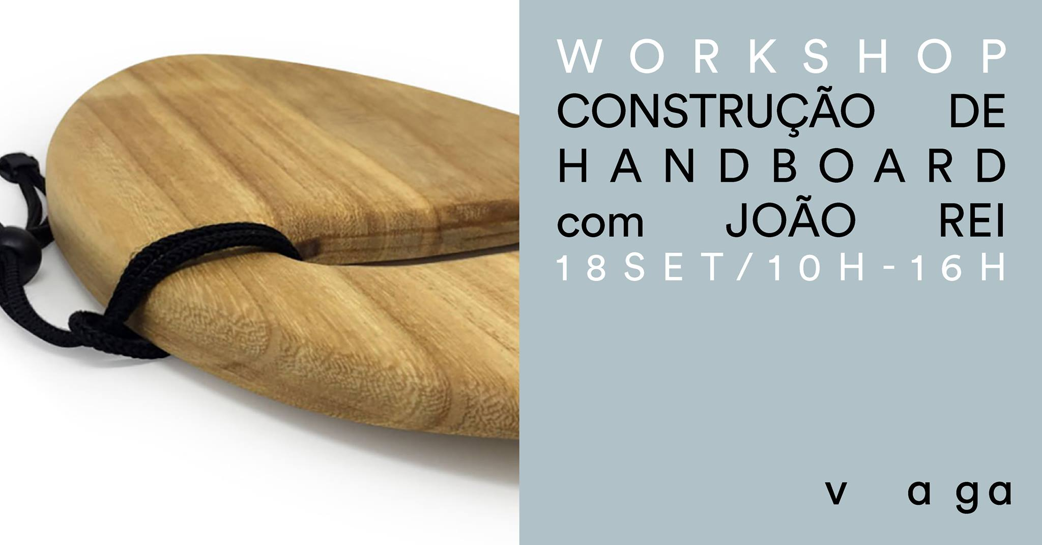 Workshop - Construção de 'handboard' com João Rei