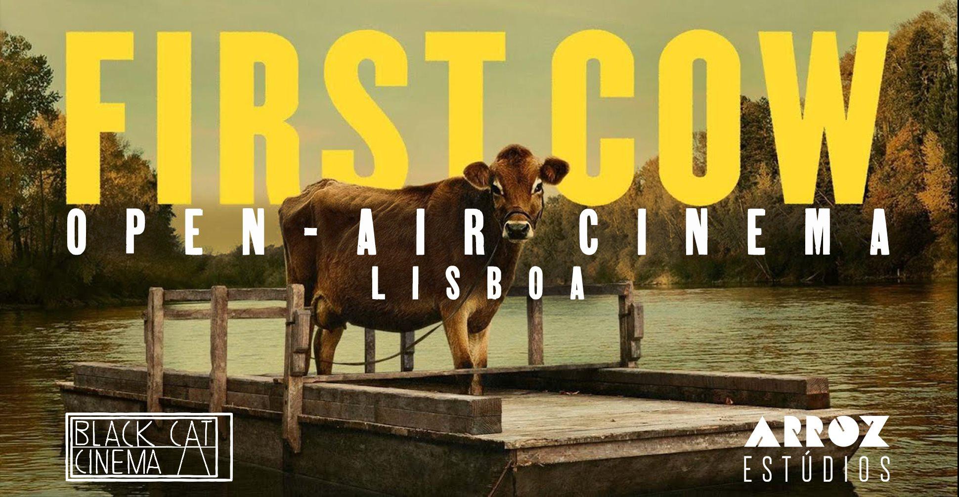 Open-air cinema: First Cow