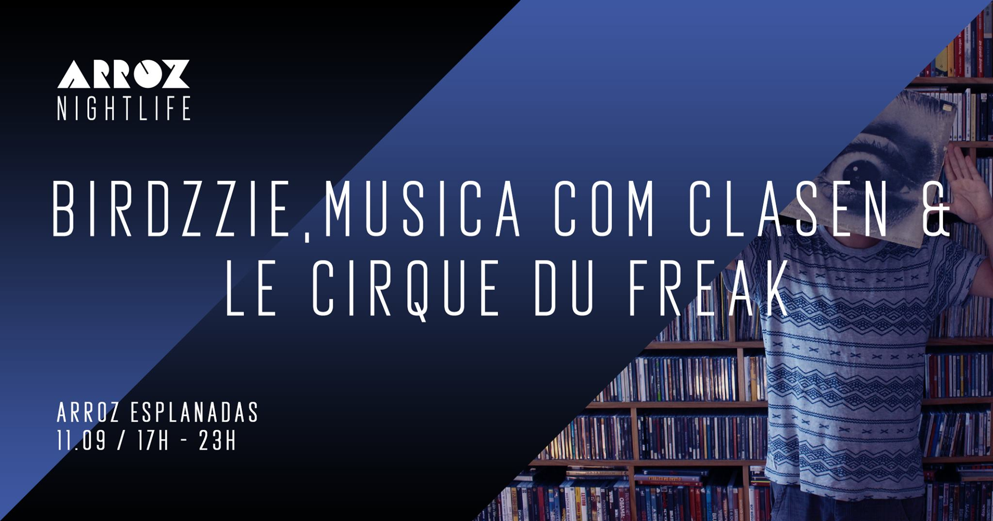 Ornitologia - Birdzzie + Musica com Clasen + Le Cirque du Freak