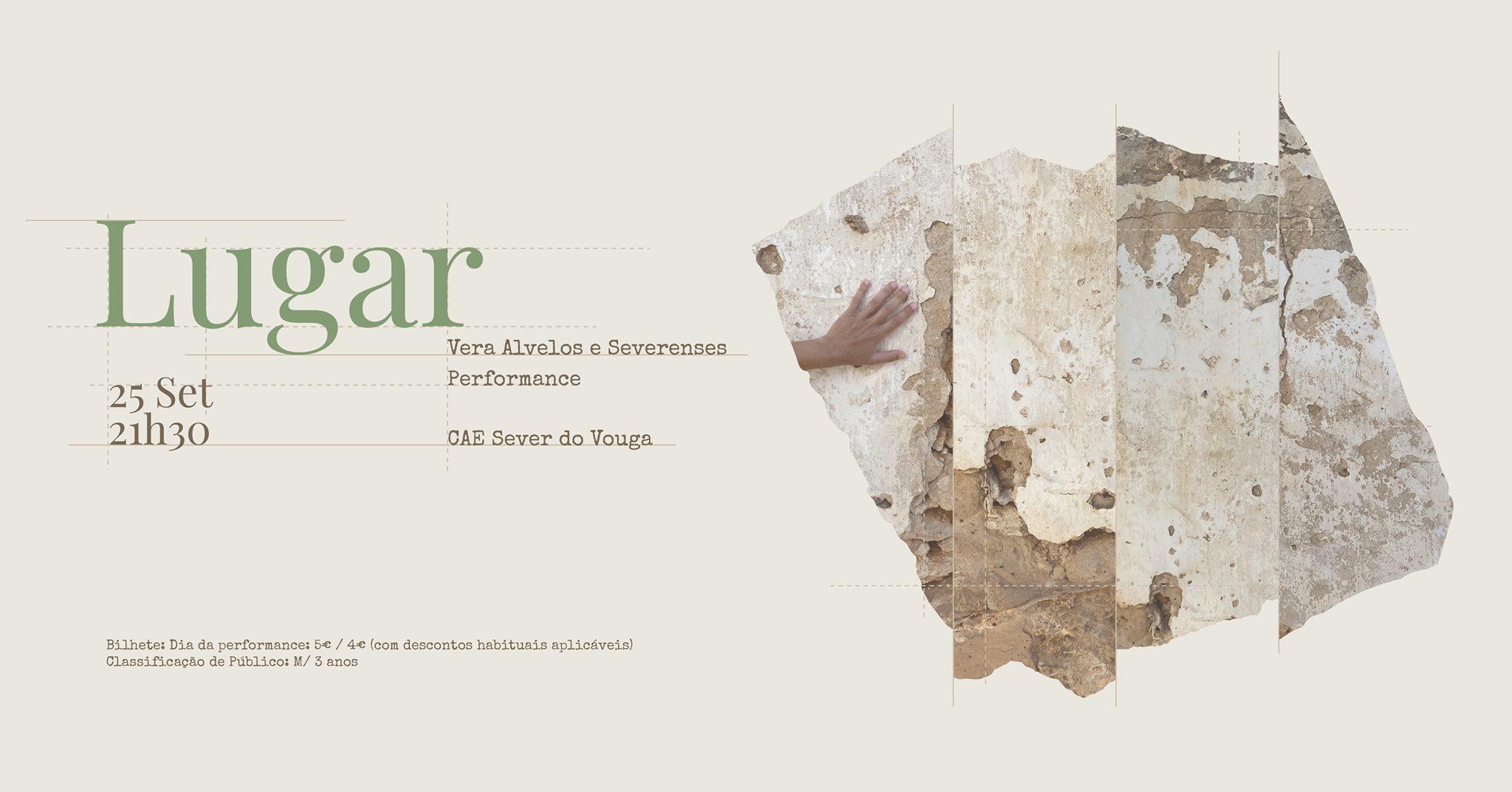 PERFORMANCE: 'LUGAR' - Vera Alvelos