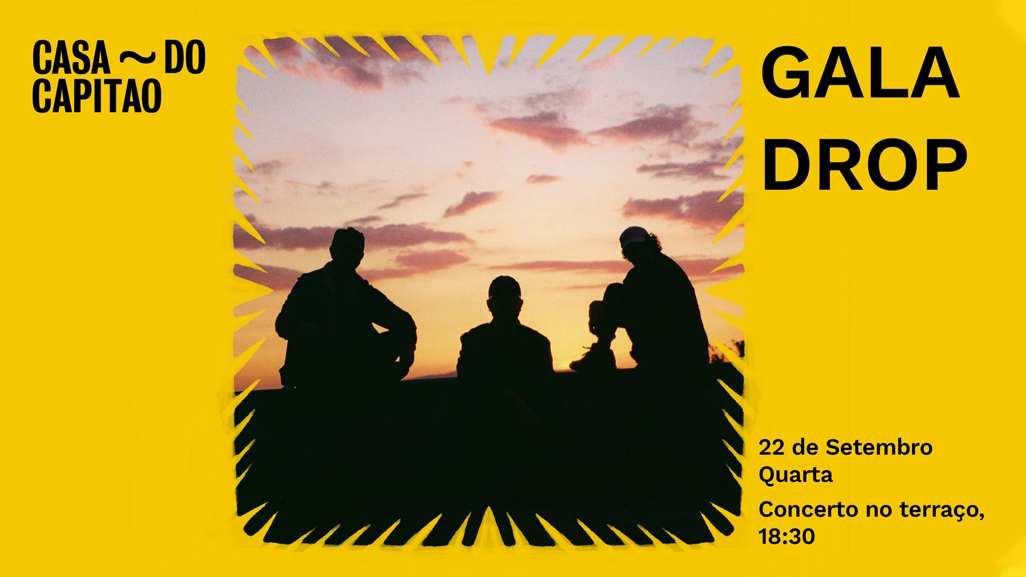 Gala Drop • concerto no terraço