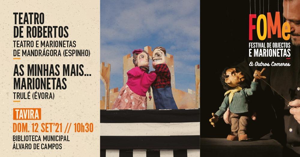Teatro de Robertos / As minhas MAIS... Marionetas