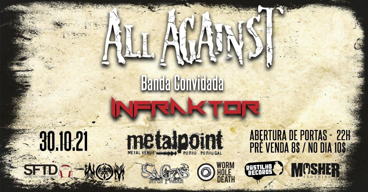 All Against + Infraktor - Metalpoint
