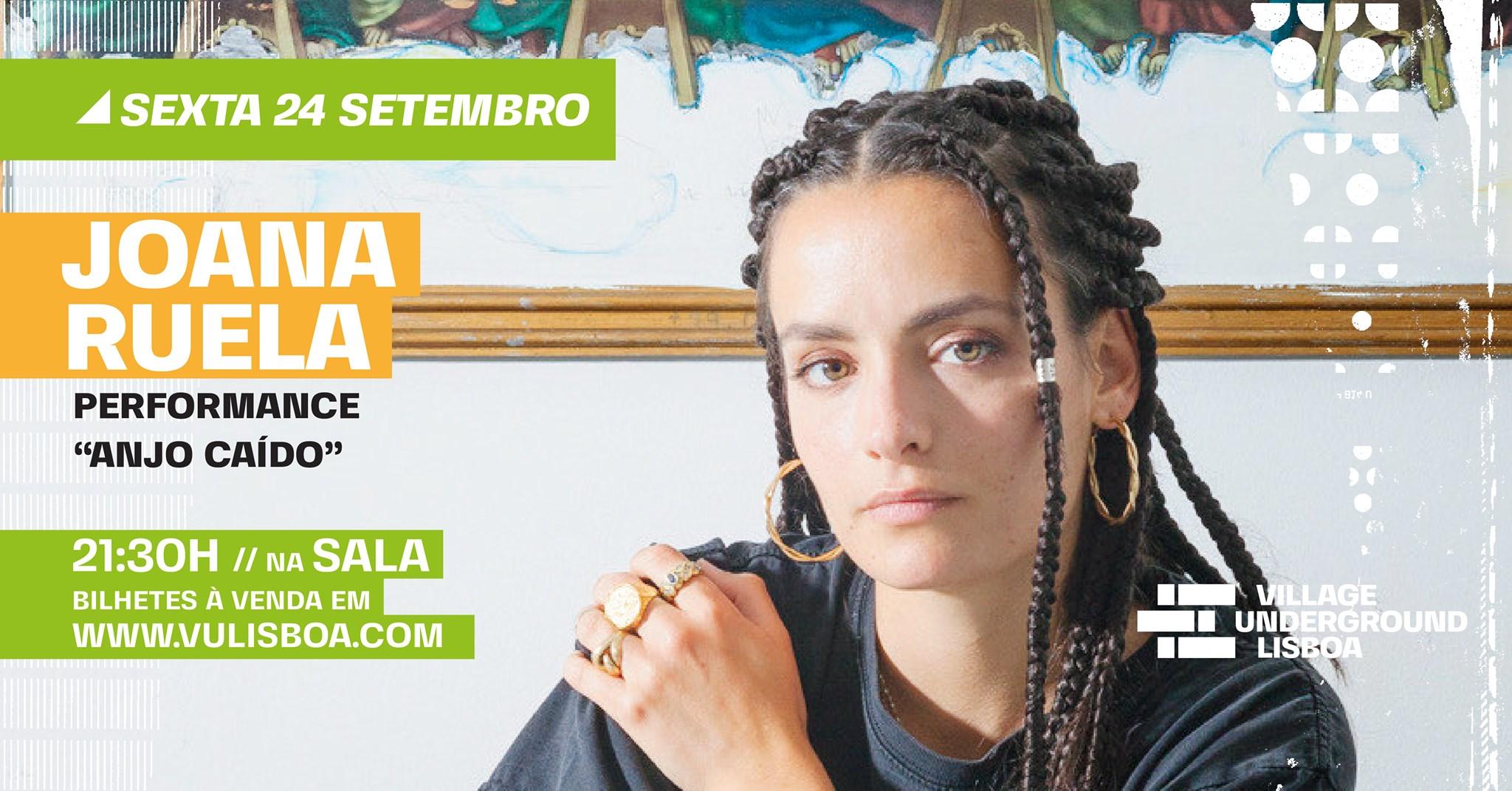 24 Setembro - Joana Ruela // Anjo Caído // Performance