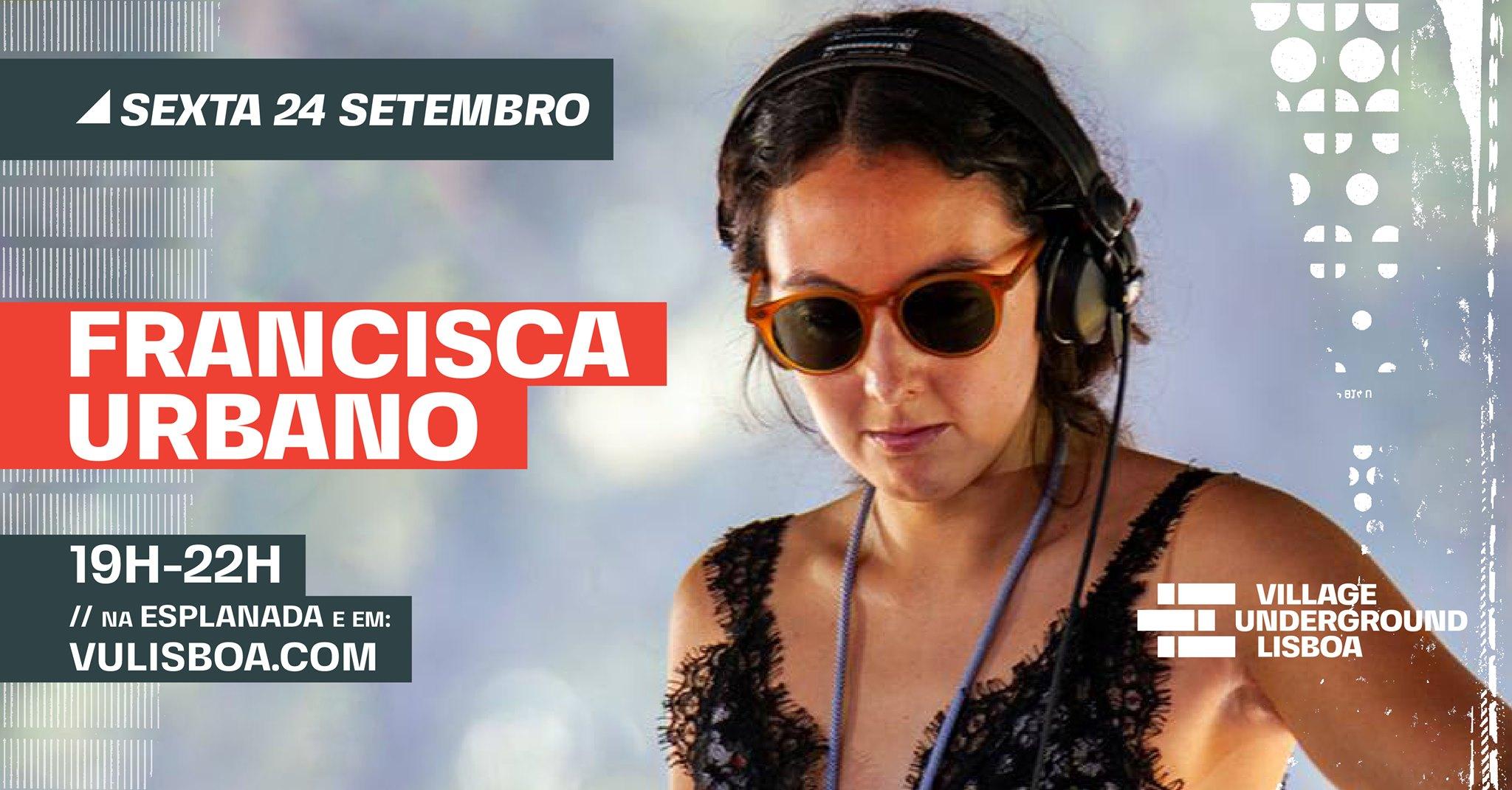 24 Setembro - Francisca Urbano // esplanada