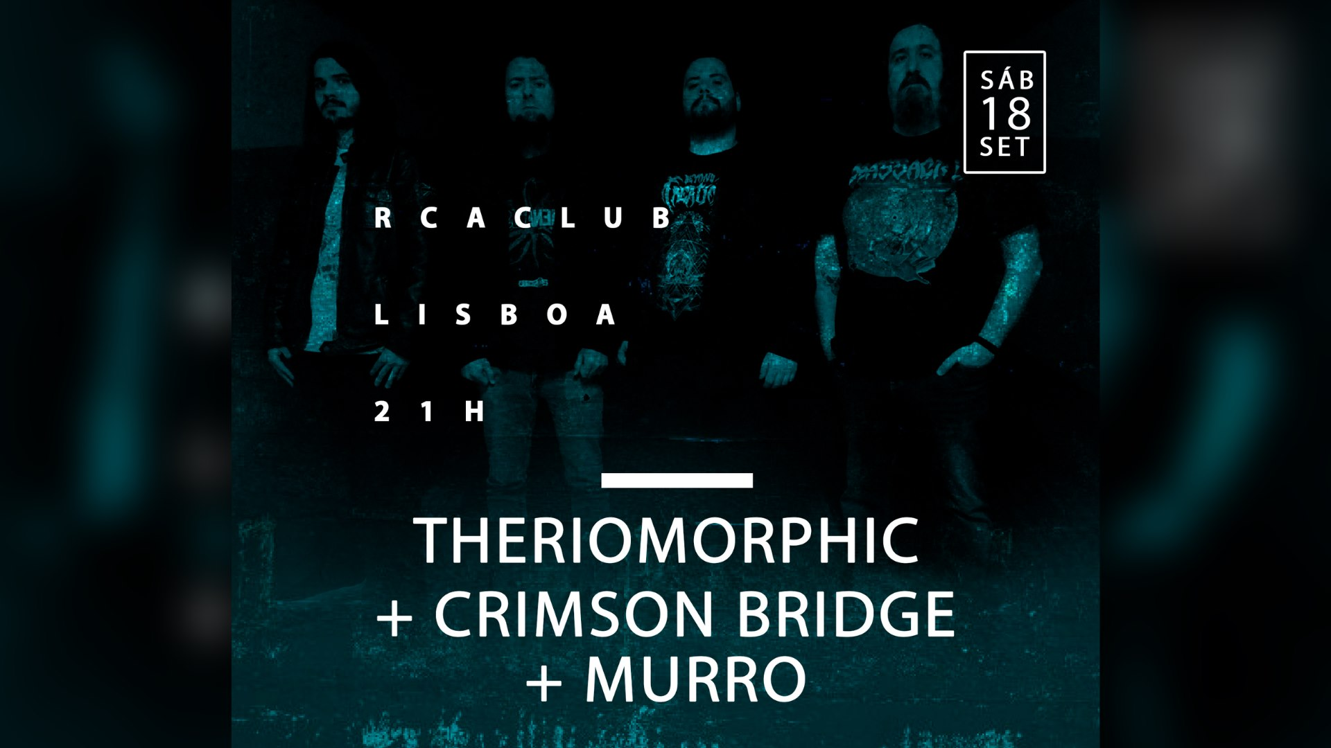 THERIOMORPHIC + CRIMSON BRIDGE + MURRO