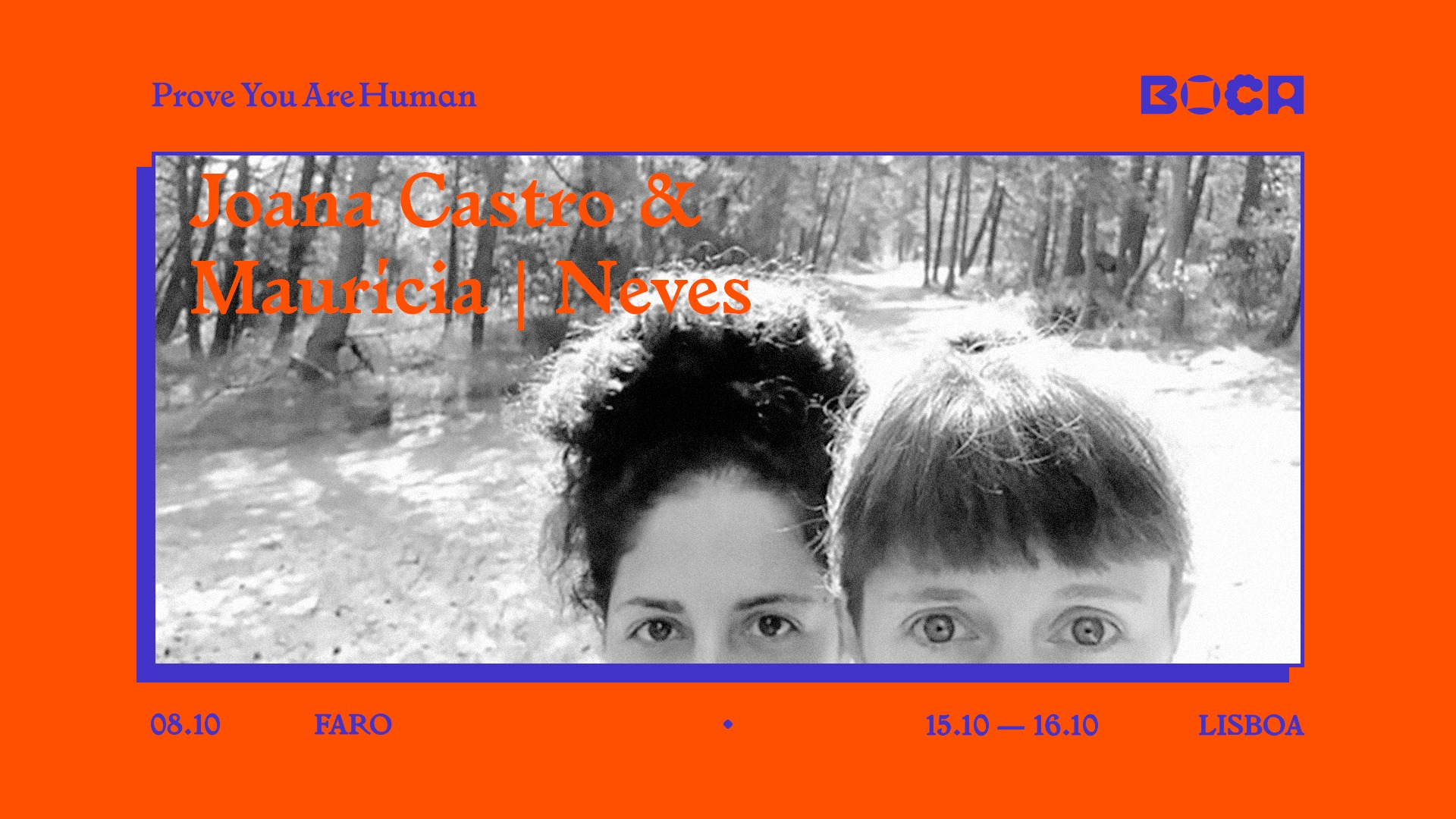 BoCA 2021   Joana Castro & Maurícia   Neves 'and STILL we MOVE'