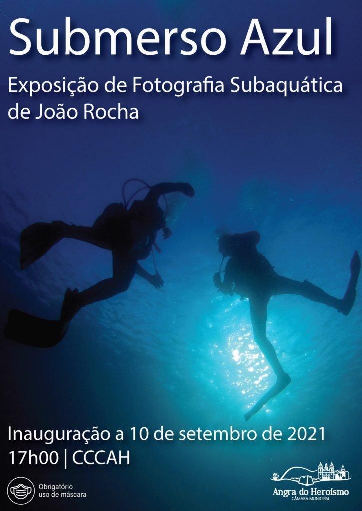 Submerso Azul – Exposição de Fotografia Subaquática de João Rocha