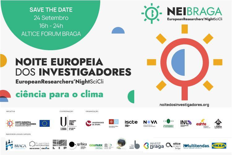 Noite Europeia dos Investigadores 2021 - Braga