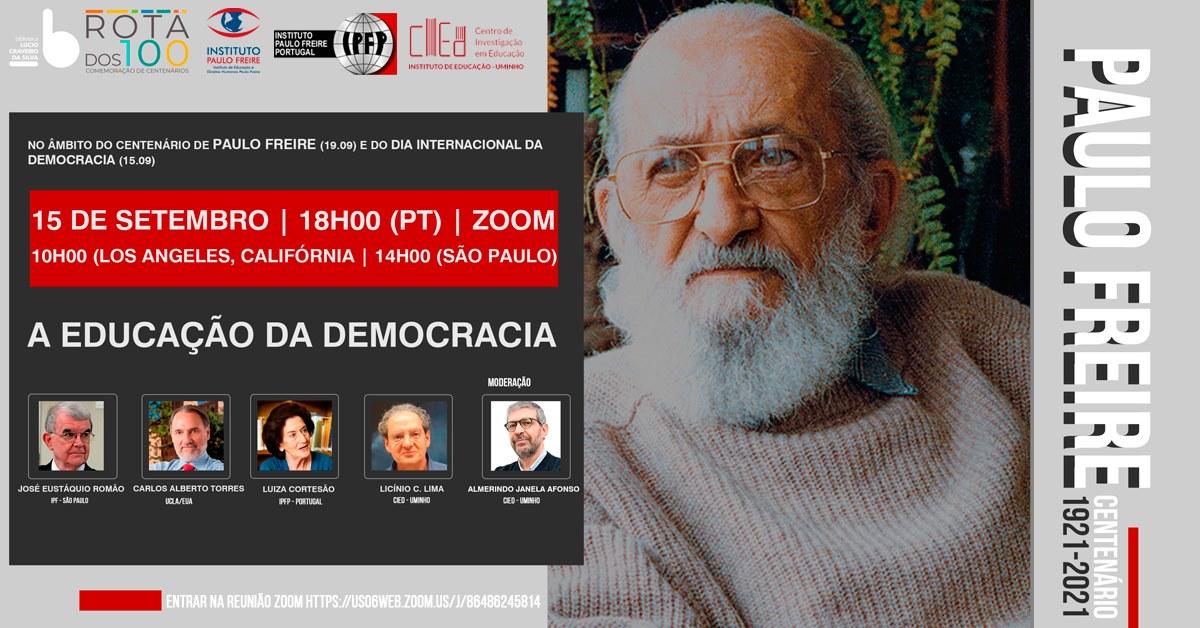 Paulo Freire  – A Educação da Democracia