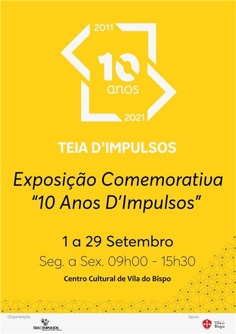 '10 Anos D'Impulsos' em Exposição no Centro Cultural de Vila do Bispo