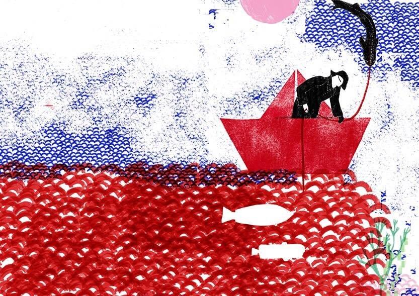 Exposição de ilustração 'Heróis do Mar', de Sara Bandarra