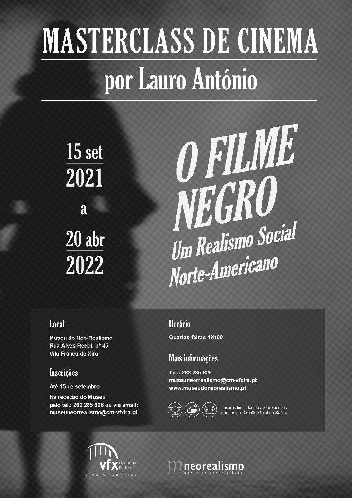 Masterclass de cinema por Lauro António